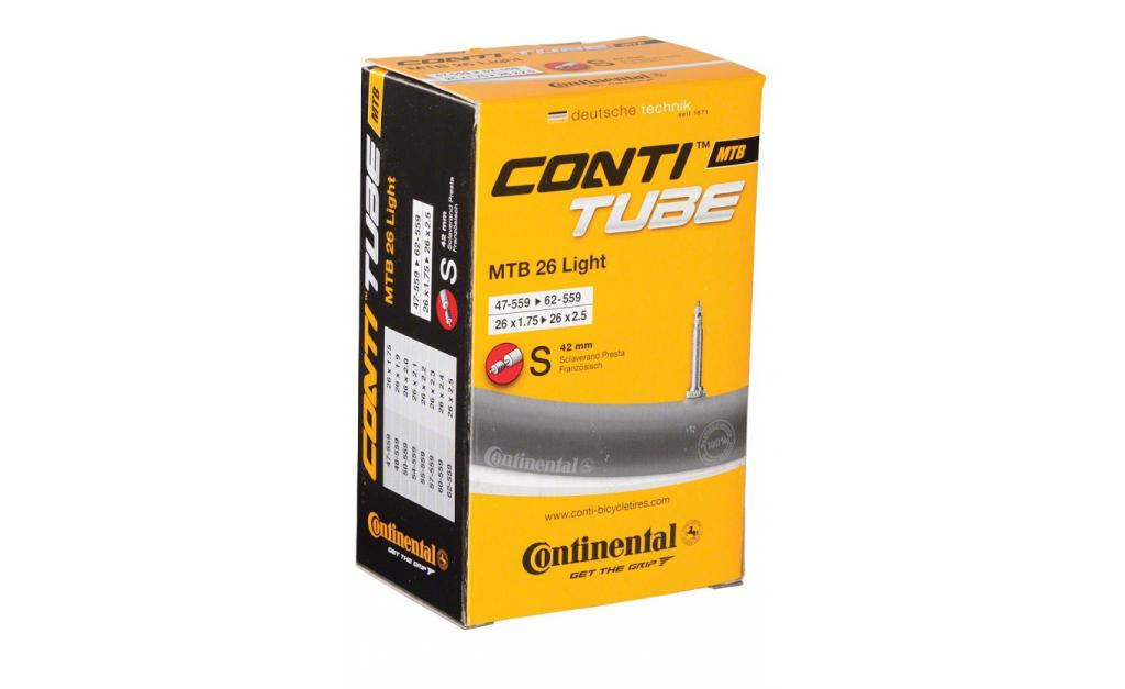 CONTINENTAL duše MTB Light 26 FV