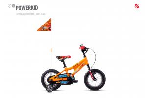GHOST Powerkid 12 orange/red/black