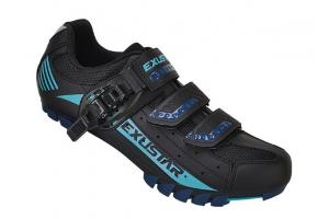 EXUSTAR Tretry MTB SM308DB black/blue
