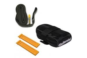 CONTINENTAL Podsedlová brašnička/ Tube bag with Tour 28 tube D42 and 2 tire levers MTB 28""