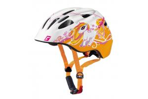 CRATONI Akino Pony white-orange glossy