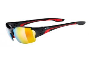 UVEX Brýle Blaze III black/red (2316)