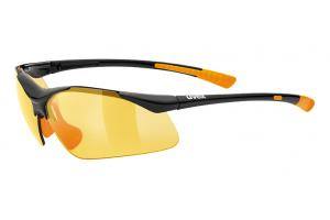 UVEX Brýle Sportstyle 223 black/orange (2212)