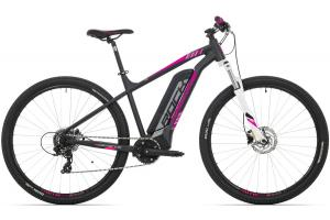 ROCK MACHINE Catherine e60-29 matt black/silver/pink 504 Wh