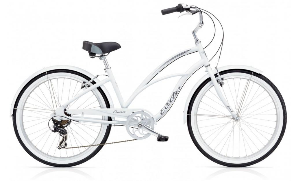 ELECTRA Cruiser Lux 7D White Ladies'