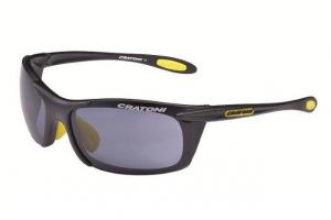CRATONI Brýle AIR BLAST Black- yellow matt