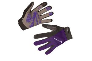 ENDURA Dámské rukavice Hummvee Plus Purple