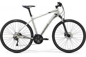 MERIDA Crossway 600 Matt Titan (Glossy Black/Grey)