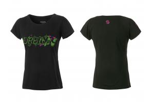GHOST Tričko Women DREAMR black/green