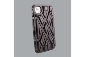 G-FORM Pouzdro na mobil iPhone X-PROTECT 4 & 4S black shell