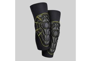 G-FORM Chrániče kolen Elite Knee Guards black/yellow
