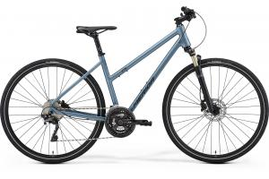 MERIDA Crossway XT-ED-Lady Matt Steel Blue (Dark Blue)